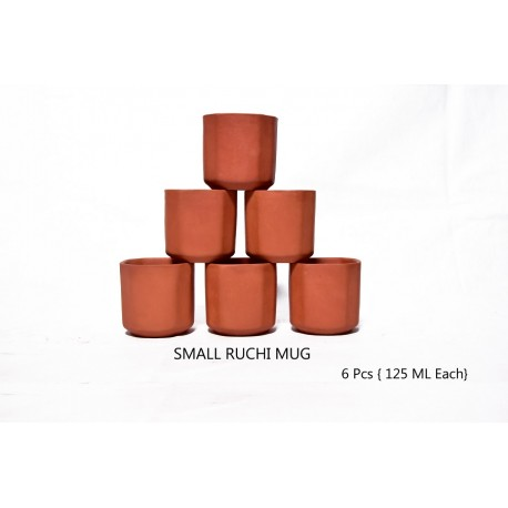 6 Pcs Ruchi Mug Small