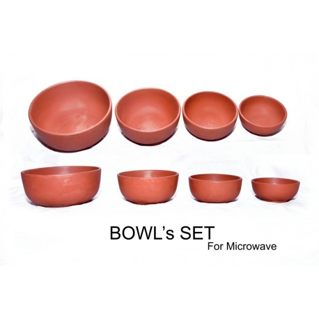 Microwave Usable Bowl set