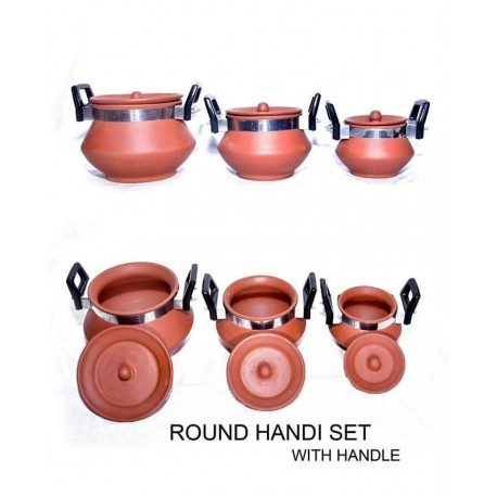 Round Handi Set with Handle