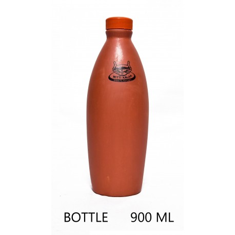 Mittikalaa clay water bottle